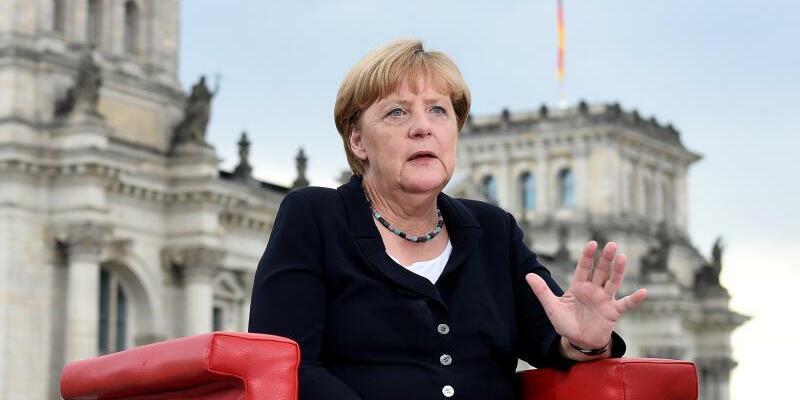 Angela Merkel - Foto: Rainer Jensen