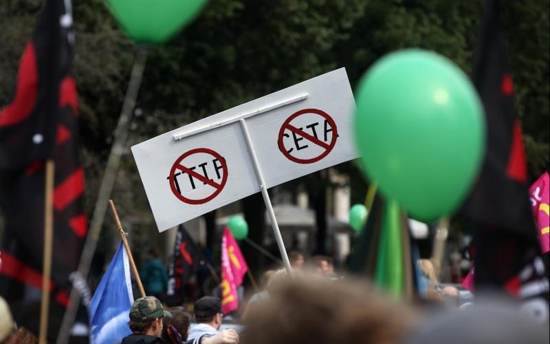 Demonstration gegen TTIP und Ceta - Foto: über dts Nachrichtenagentur