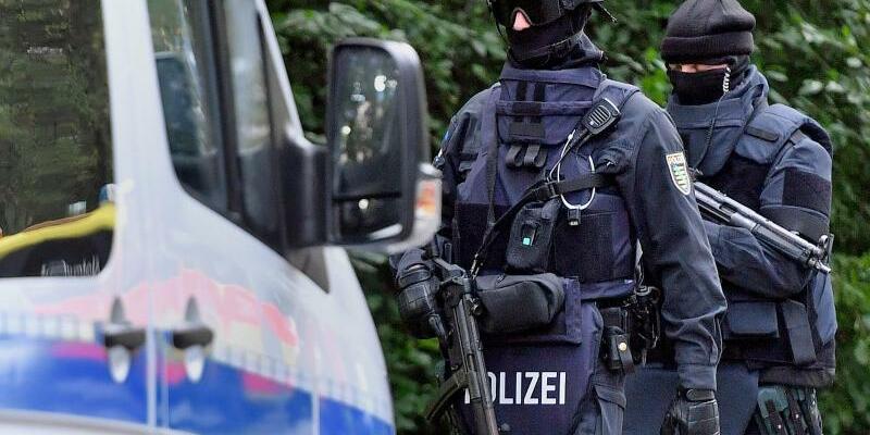 Polizeieinsatz in Chemnitz - Foto: Hendrik Schmidt