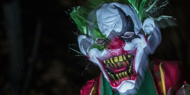Grusel-Clown - Foto: Paul Zinken/Symbolbild