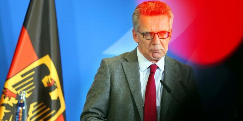 Minister de Maizière - Foto: Wolfgang Kumm
