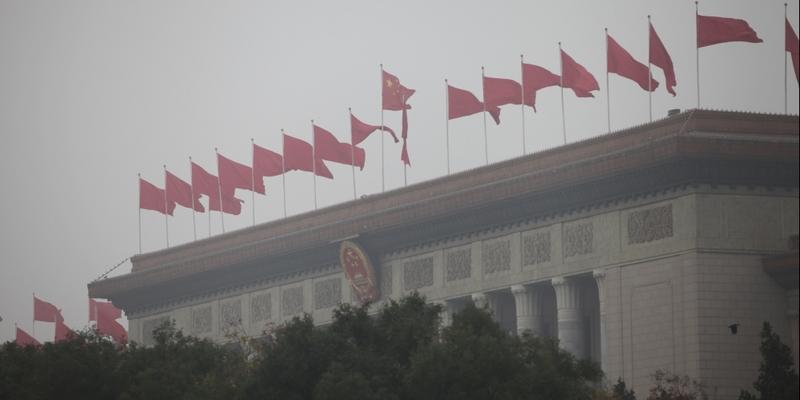 Parlamentsgebäude Große Halle des Volkes in Peking - Foto: über dts Nachrichtenagentur