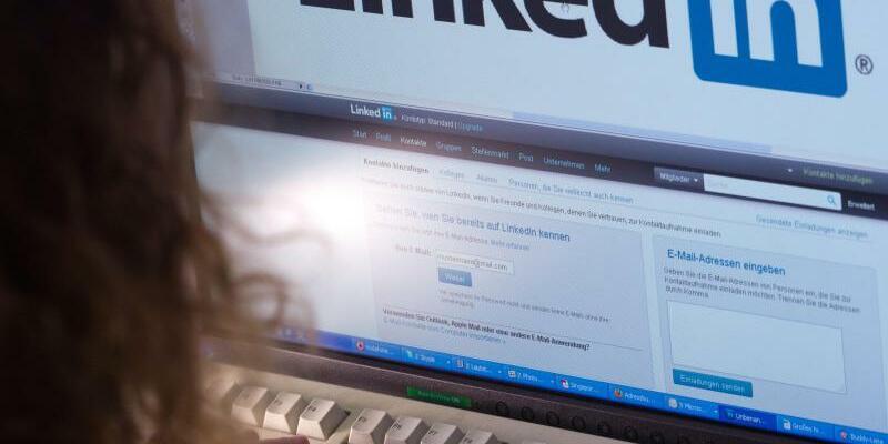 Online-Netzwerk LinkedIn - Foto: Jens Büttner