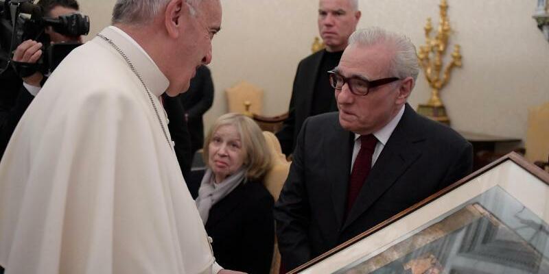 Papst Franziskus + Martin Scorsese - Foto: Osservatore Romano