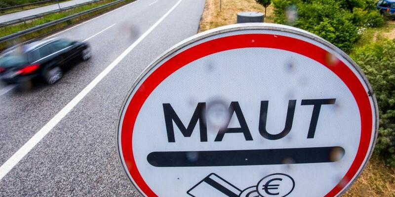 Maut-Schild - Foto: Jens Büttner