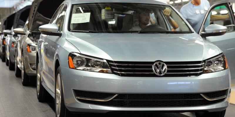 VW-Produktion in Chattanooga - Foto: Besonders stark konnte der vom Abgas-Skandal angeschlagene deutsche Hersteller VW zulegen. Foto:Erik S. Lesser