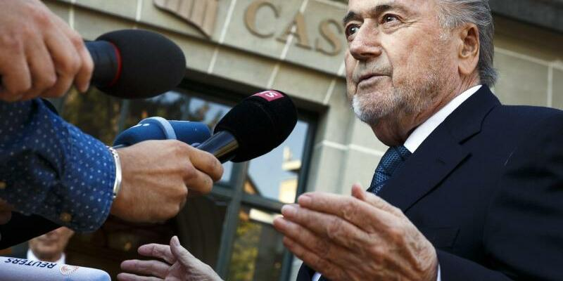 Joseph Blatter - Foto: Valentin Flauraud