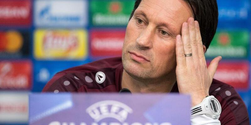 Pk Bayer Leverkusen - Foto: Leverkusens Trainer Roger Schmidt setzt auf einen Sieg gegen AS Moncao. Foto:Marius Becker