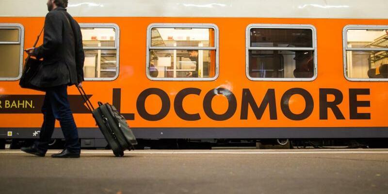 Locomore - Foto: Locomore verfügt bislang über nur einen Zug. Das Unternehmen wurde über Crowdfunding finanziert. Foto: Christoph Schmidt