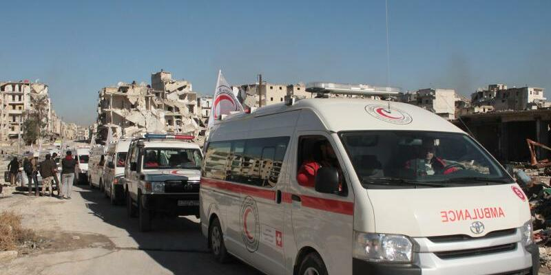 Krankenwagen - Foto: Ghith Sy