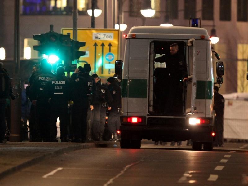 Breitscheidplatz nach Anschlag auf Weihnachtsmarkt - Foto: über dts Nachrichtenagentur