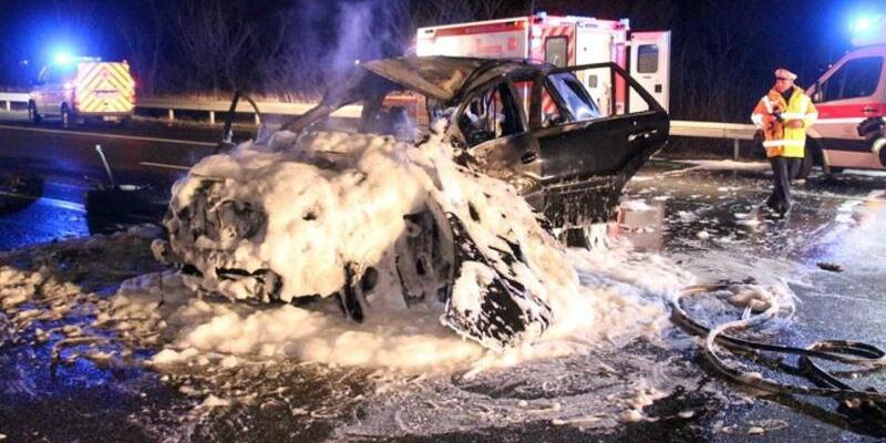 Unfall - Foto: Mehr Unfälle, mehr Verletzte - aber weniger Tote. Foto:Einsatzreport Südhessen