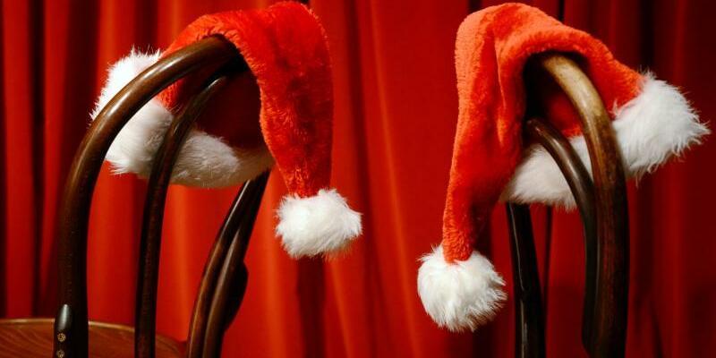 Weihnachtsmützen - Foto: Jens Kalaene