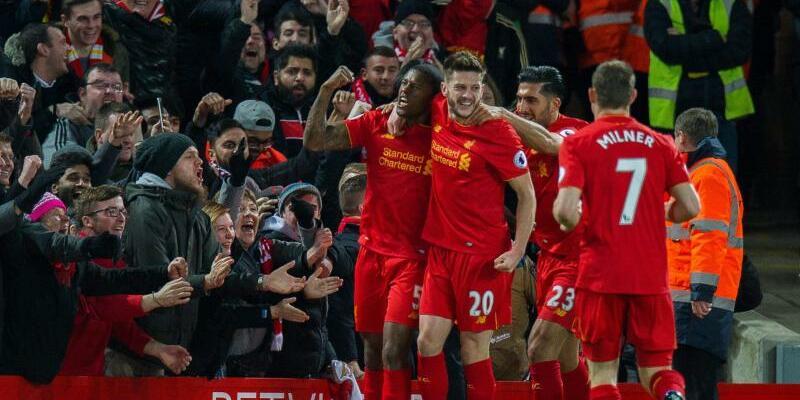 Heimerfolg - Foto: Liverpool gewann zu Hause gegen ManCity mit 1:0. Foto:Peter Powell