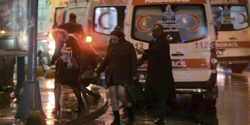 Angriff auf Istanbuler Nachtclub - Foto: str/AP