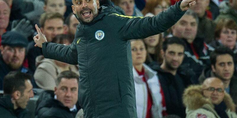 Verantwortlich - Foto: City-Coach Pep Guardiola will nur noch von Spiel zu Spiel denken. Foto:Peter Powell