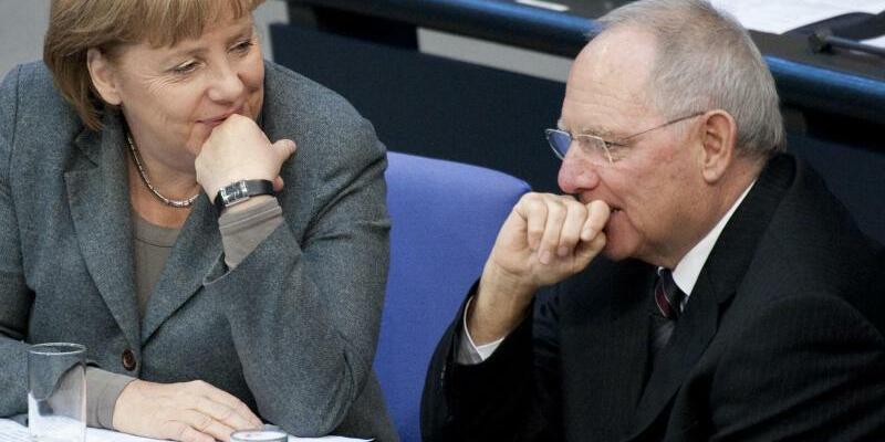 Merkel und Schäuble - Foto: Robert Schlesinger