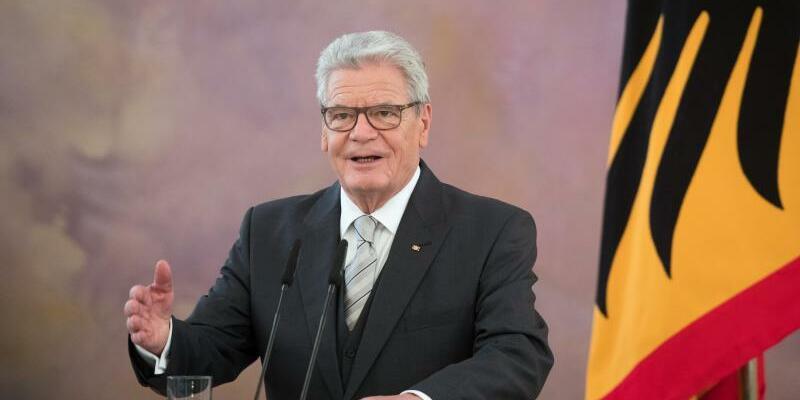 Bundespräsident Joachim Gauck - Foto: Soeren Stache