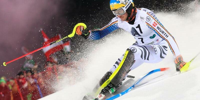 Rückstand - Foto: Beim Flutlicht-Slalom hat Felix Neureuther noch kleine Chance aufs Podest. Foto:Henrik Kristoffersen