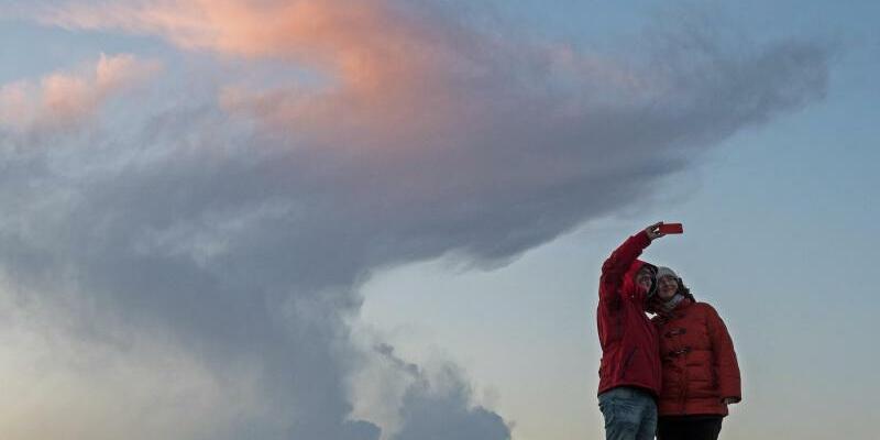 Selfie mit Sturmwolke - Foto: Ingo Wagner