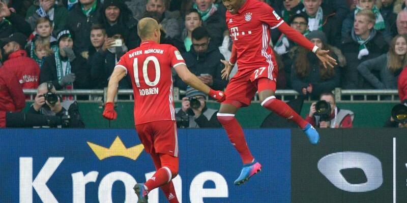 Werder Bremen - Bayern München - Foto: Axel Heimken