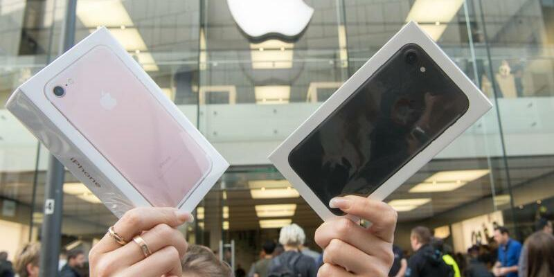 iPhone 7 - Foto: Peter Kneffel