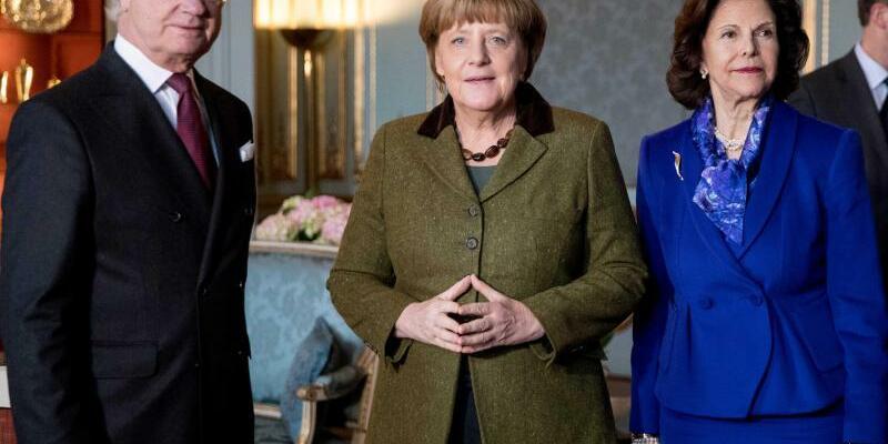 Angela Merkel in Schweden - Foto: Kay Nietfeld