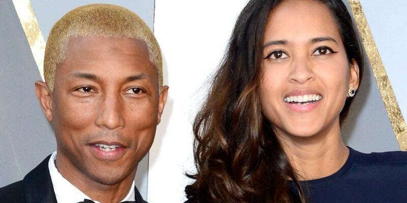 Pharrell Williams und Ehefrau - Foto: Mike Nelson