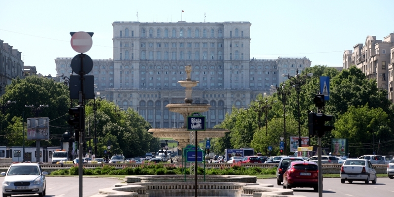 Parlamentspalast in Bukarest - Foto: über dts Nachrichtenagentur