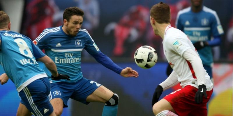 RB Leipzig - HSV am 11.02.2017 - Foto: über dts Nachrichtenagentur