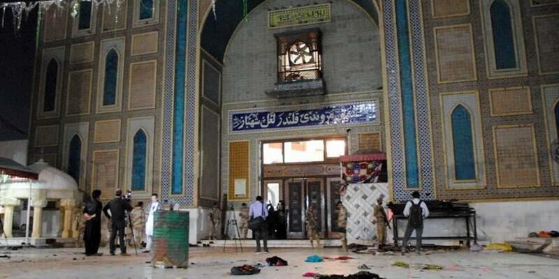 Anschlag auf Sufi-Schrein - Foto: Pacific Press/dpa