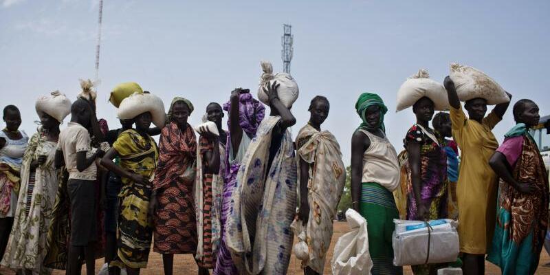 Akute Hungersnot im Südsudan - Foto: Kate Holt/UNICEF