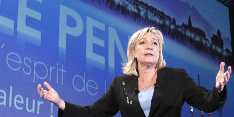 Marine Le Pen - Foto: Guillaume Horcajuelo/Archiv