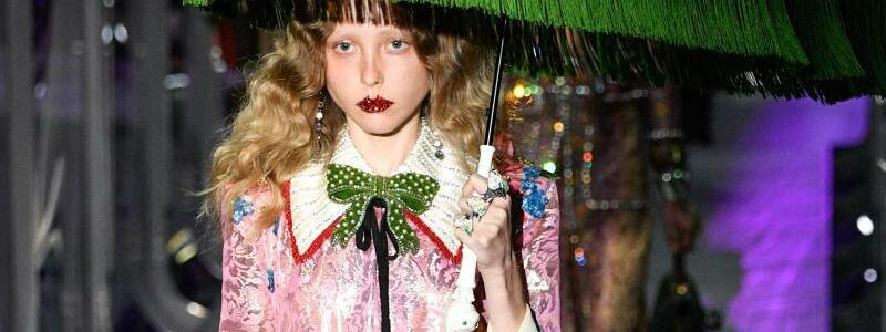 Mailand Fashion Week - Gucci - Foto: Pps/ZUMA