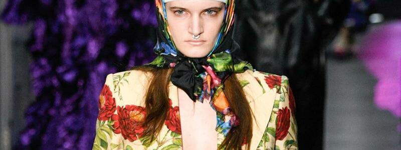 Mailand Fashion Week - Gucci - Foto: Pps/ZUMA/