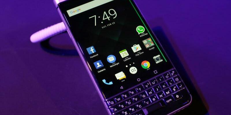 BlackBerry KEYone - Foto: Manu Fernandez