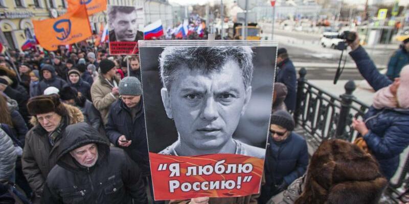Gedenkmarsch für Boris Nemzow - Foto: Ivan Sekretarev