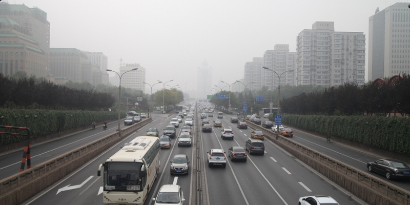 Straßenverkehr in Peking - Foto: über dts Nachrichtenagentur