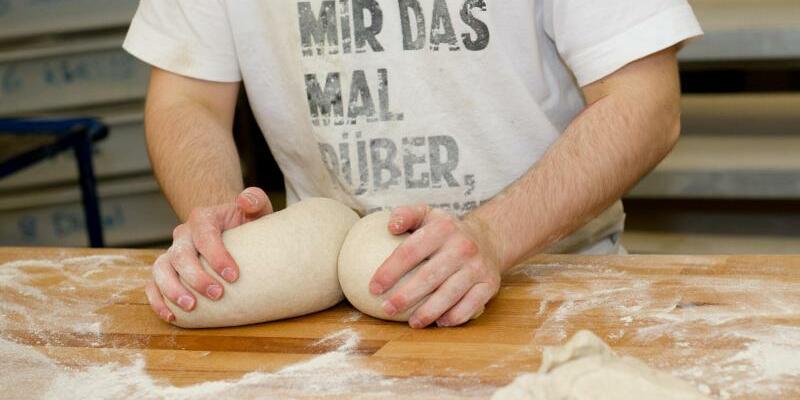 Bäckerlehrling - Foto: Inga Kjer