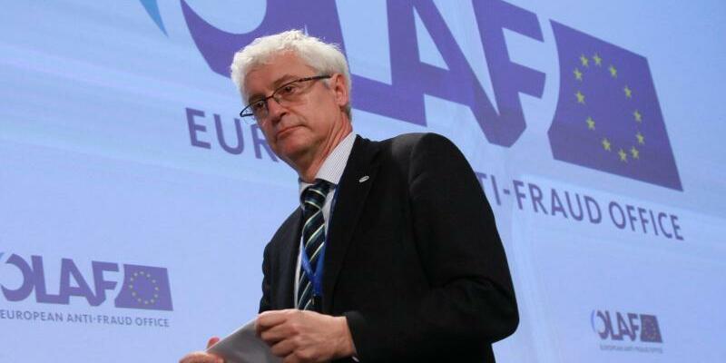 Olaf - Giovanni Kessler - Foto: Giovanni Kessler, Chef der Anti-Betrugsbehörde der EU (Olaf). Foto:Olivier Hoslet