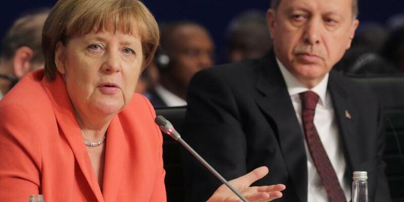 Merkel und Erdogan - Foto: Michael Kappeler