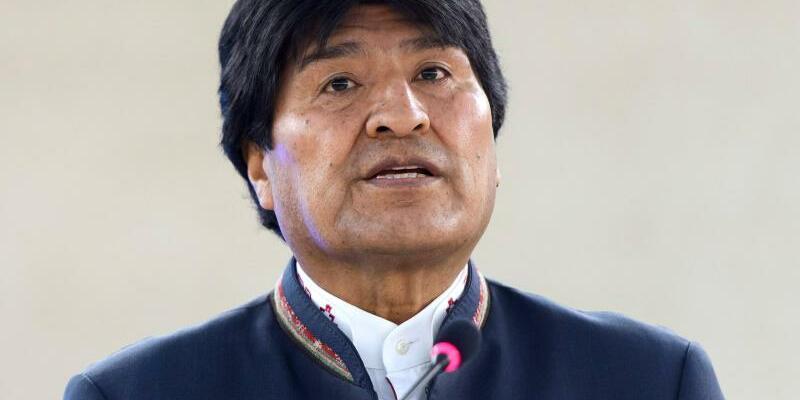 Evo Morales - Foto: Martial Trezzini