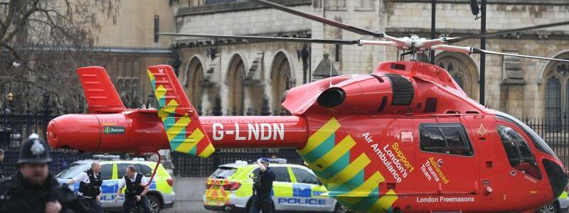 Schüsse nahe britischem Parlament - Foto: Victoria Jones