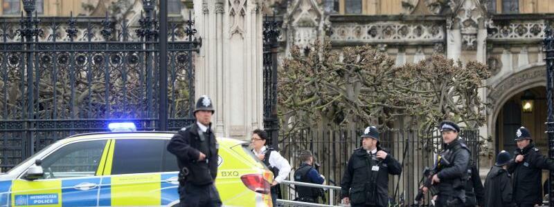 Schüsse nahe britischem Parlament - Foto: In der Nähe des Londoner Parlaments sind Schüsse gefallen. Foto:Victoria Jones