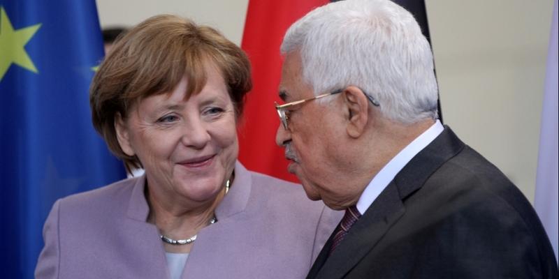 Mahmud Abbas und Angela Merkel am 24.03.2017 - Foto: über dts Nachrichtenagentur