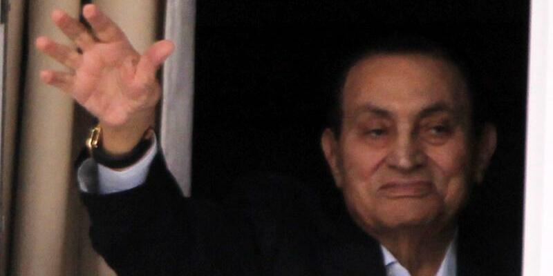 Husni Mubarak - Foto: Khaled Elfiqi/Archiv