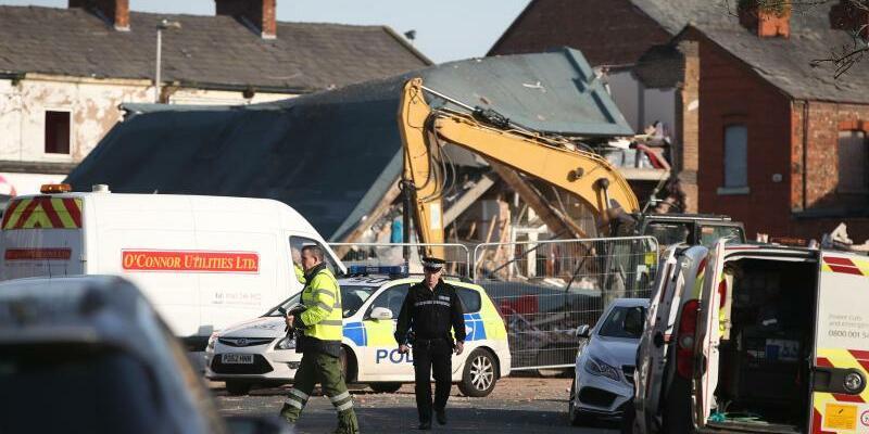 Gasexplosion bei Liverpool - Foto: Danny Lawson