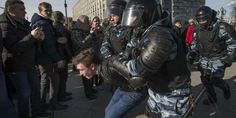 Antikorruptionsproteste in Russland - Foto: Alexander Zemlianichenko