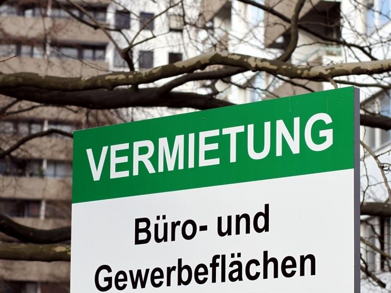 Vermietungs-Schild - Foto: über dts Nachrichtenagentur