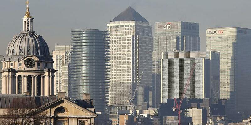 Skyline in London - Foto: Die britische Hauptstadt hat ein Luftproblem. Foto:Philip Toscano